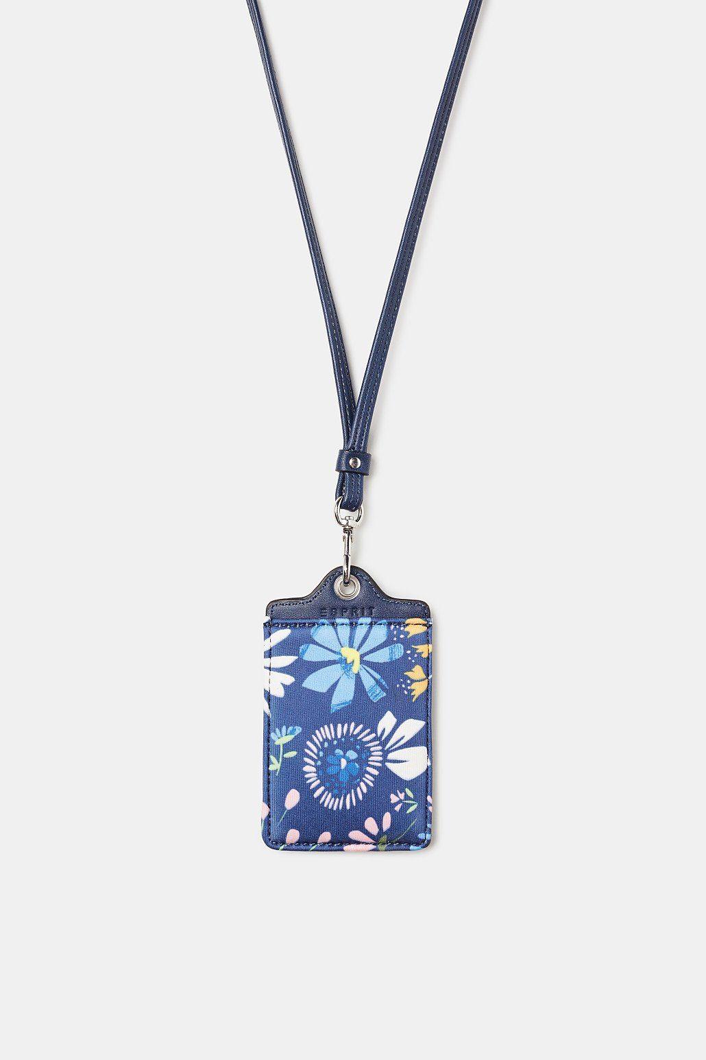 ESPRIT Gepäckanhänger mit floralem Allover-Print