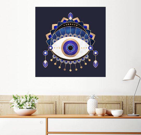 Posterlounge Wandbild - Elisabeth Fredriksson »Blue Eye«