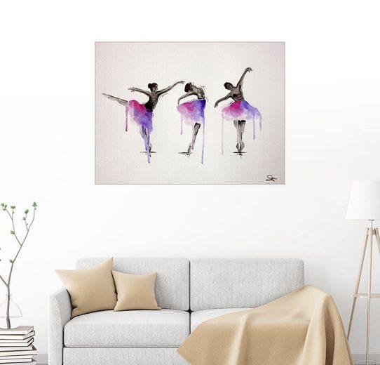 Posterlounge Wandbild - Sam Reimann »Ballett Pose«