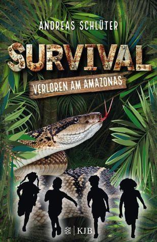 Gebundenes Buch »Verloren am Amazonas / Survival Bd.1«