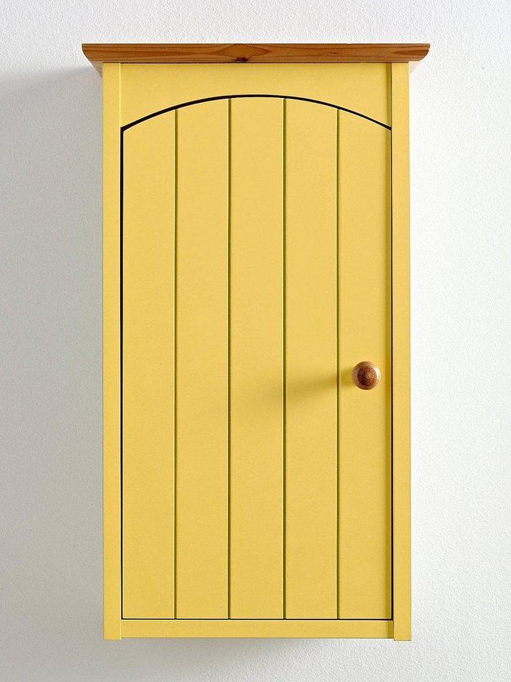 Hängeschrank in gelb