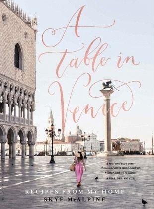 Gebundenes Buch »A Table in Venice«
