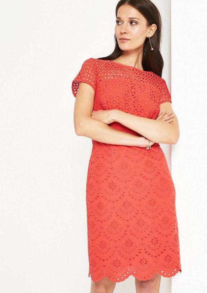 Kleid mit spitze comma
