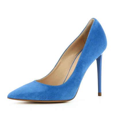 DOGO »Leoneo« High-Heel-Pumps, Vegan, blau, blau