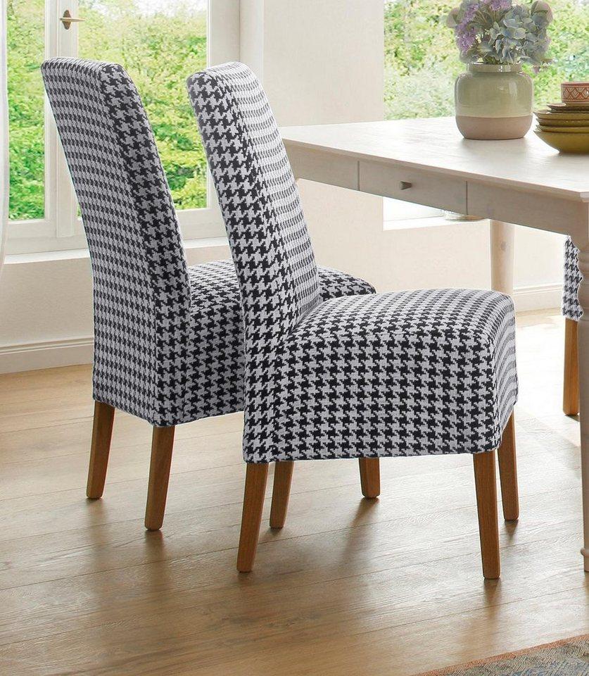 Home Affaire Stuhl Sets Rona Mit Hahnentrittdesign In
