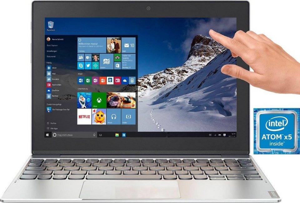 Lenovo Miix 320-10ICR, 80XF001HGE Convertible Notebook (25,7 cm/10,1 Zoll,  Intel Atom) online kaufen | OTTO