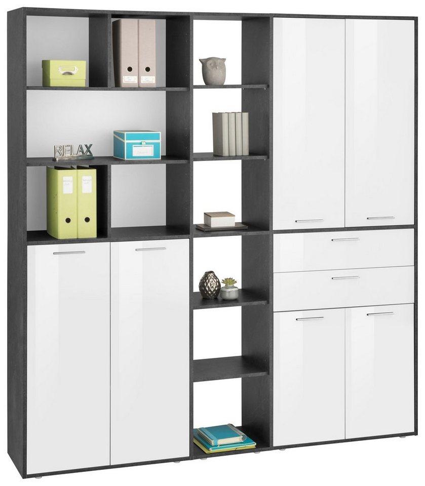 Büroschrank weiß mit türen  Aktenschrank »Esse« mit 6 Türen online kaufen | OTTO