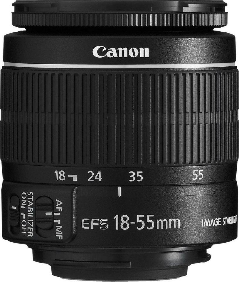Objektive - Canon »EF S18 55MM F3.5 5.6 IS II TW« Zoomobjektiv  - Onlineshop OTTO