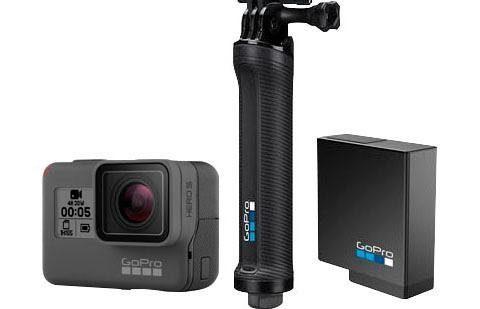GoPro »HERO5 Black 3 Way Grip Bundle« Action Cam (4K Ultra HD, WLAN (Wi-Fi), Bluetooth)