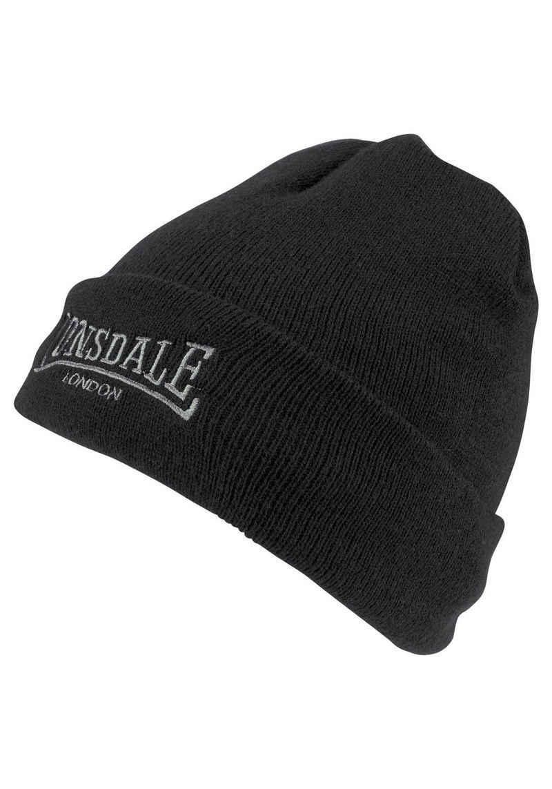Lonsdale Beanie »HAT DUNDEE« Innen mit wärmendem Fleece gefüttert