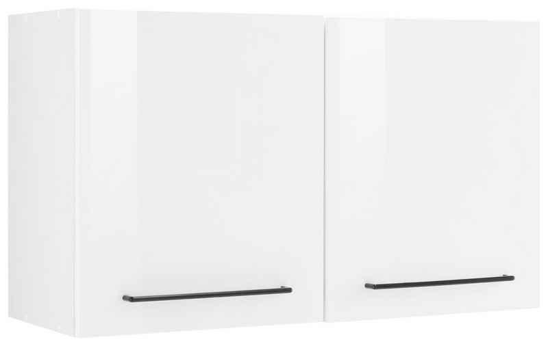 HELD MÖBEL Hängeschrank »Tulsa« 100 cm breit, 57 cm hoch, 2 Türen, schwarzer Metallgriff, hochwertige MDF Front