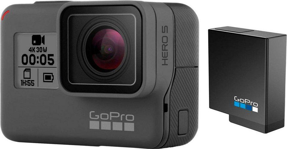 gopro hero5 black chesty bundle action cam 4k ultra hd. Black Bedroom Furniture Sets. Home Design Ideas
