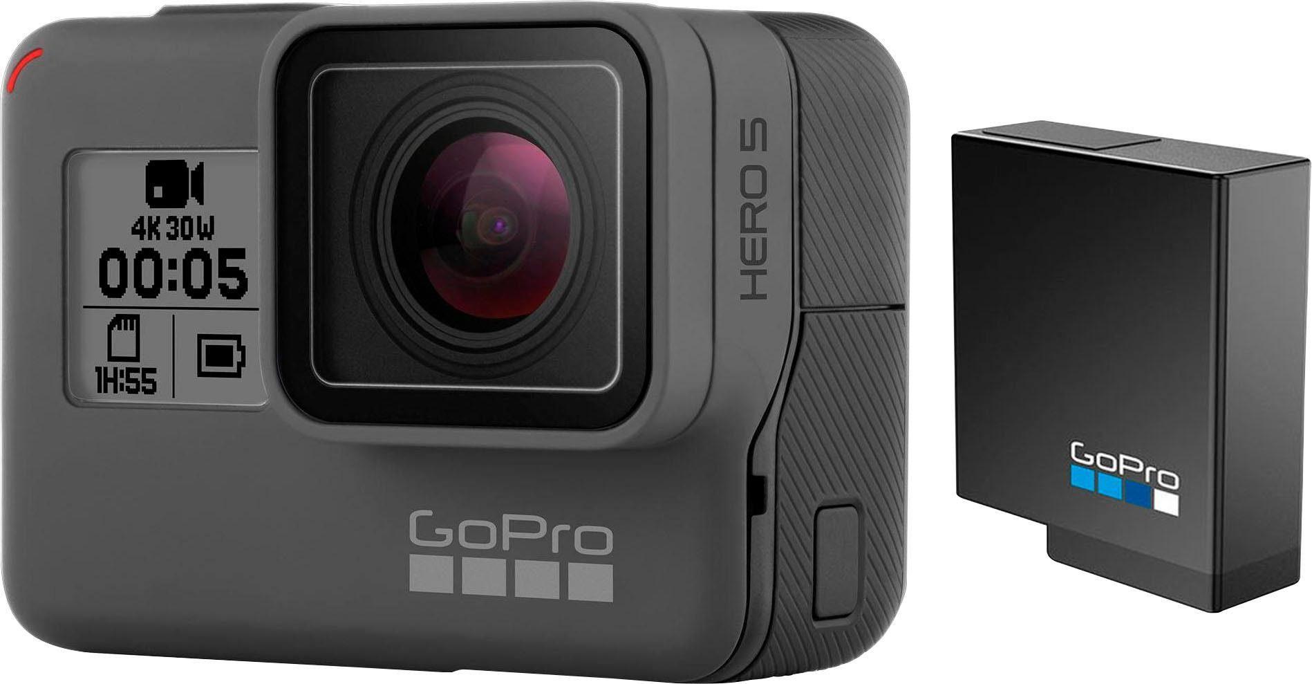 GoPro »HERO5 Black Chesty Bundle« Action Cam (4K Ultra HD, WLAN (Wi-Fi), Bluetooth)