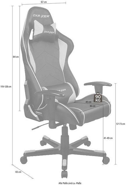 Bürostühle - DXRacer Gaming Chair Formula Serie, OH FE08 » grün  - Onlineshop OTTO