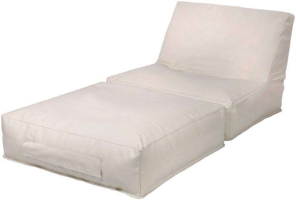 outbag sitzsack peak skin wetterfest f r den au enbereich bxt 90x180 cm online kaufen otto. Black Bedroom Furniture Sets. Home Design Ideas