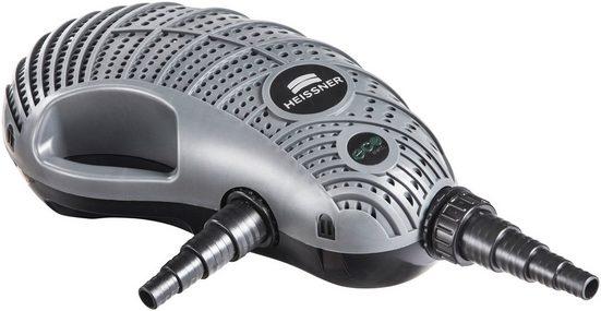 HEISSNER Filter- und Bachlaufpumpe »P8100E-00 AQUA CRAFT«, 8100 l/h