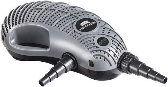 HEISSNER Filter- und Bachlaufpumpe »P15100E-00 AQUA CRAFT«, 15100 l/h