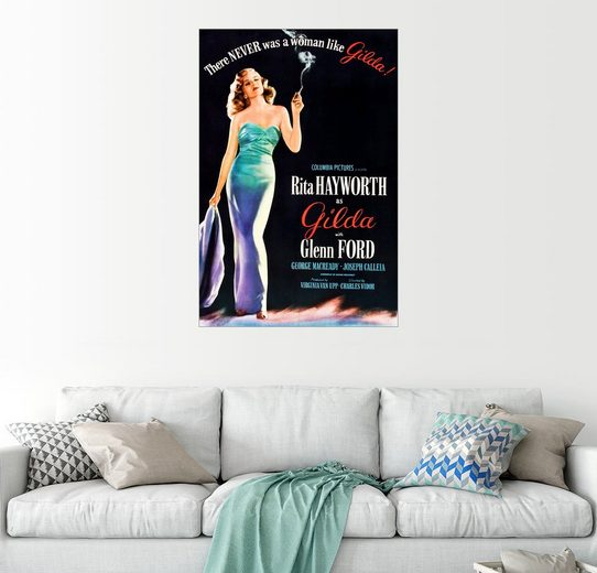 Posterlounge Wandbild »Gilda«