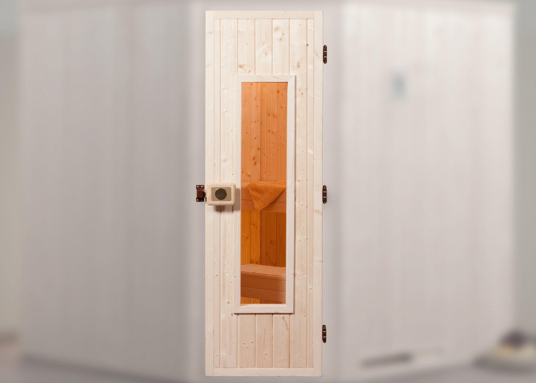 WEKA Saunatür , BxH: 61,8x182,5 cm, inkl. Rahmen