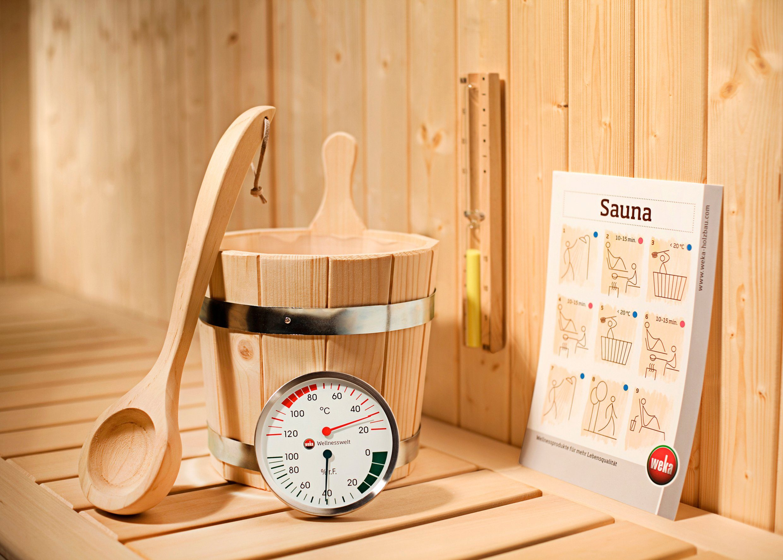 WEKA Sauna-Wellness-Set »Premium«, 5-tlg.