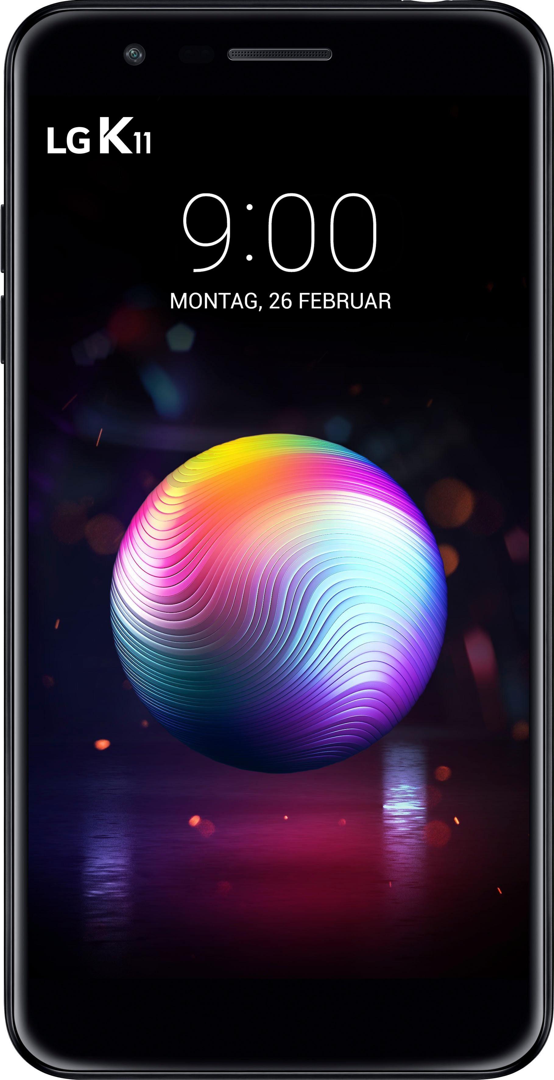 LG K11 Smartphone (13,5 cm/5,3 Zoll, 16 GB Speicherplatz, 13 MP Kamera)