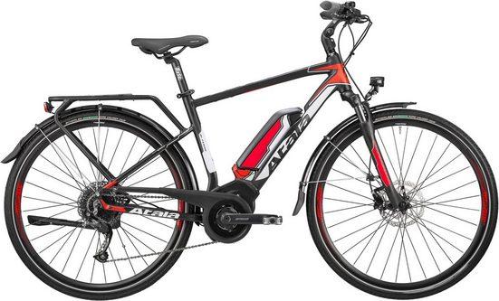 Atala E-Bike »B-Tour S«, 9 Gang Shimano RD-M 2000 Schaltwerk, Kettenschaltung, Mittelmotor 250 W