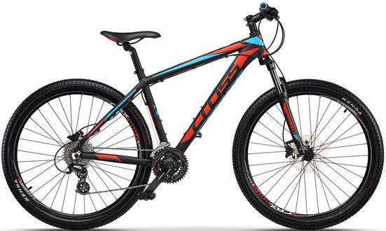 CROSS Mountainbike, 24 Gang Shimano Altus RD-M310 Schaltwerk, Kettenschaltung