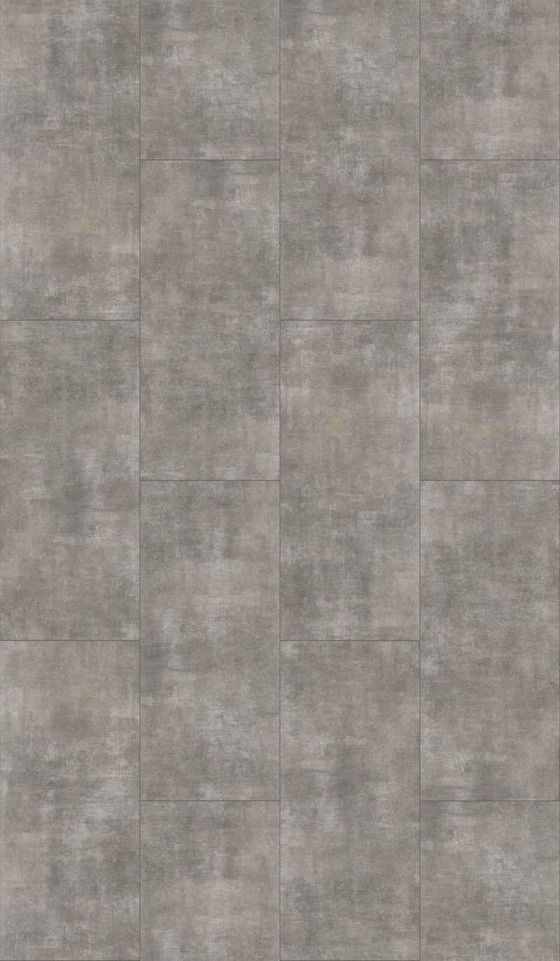 PARADOR Vinylboden »Trendtime 5.50 - Mineral Grey«, 90,6 x 39,6 cm, Stärke 5 mm, 2,1 m²