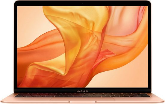 Apple MacBook Air 13 Notebook (33,78 cm/13,3 Zoll, Intel Core i3, Iris Plus Graphics, 256 GB SSD, inkl. Office-Anwendersoftware Microsoft 365 Single im Wert von 69 Euro)