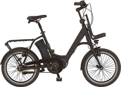 "Prophete E-Bike »URBANICER City E-Bike 20""«, 7 Gang Shimano, Nabenschaltung, Mittelmotor 250 W"