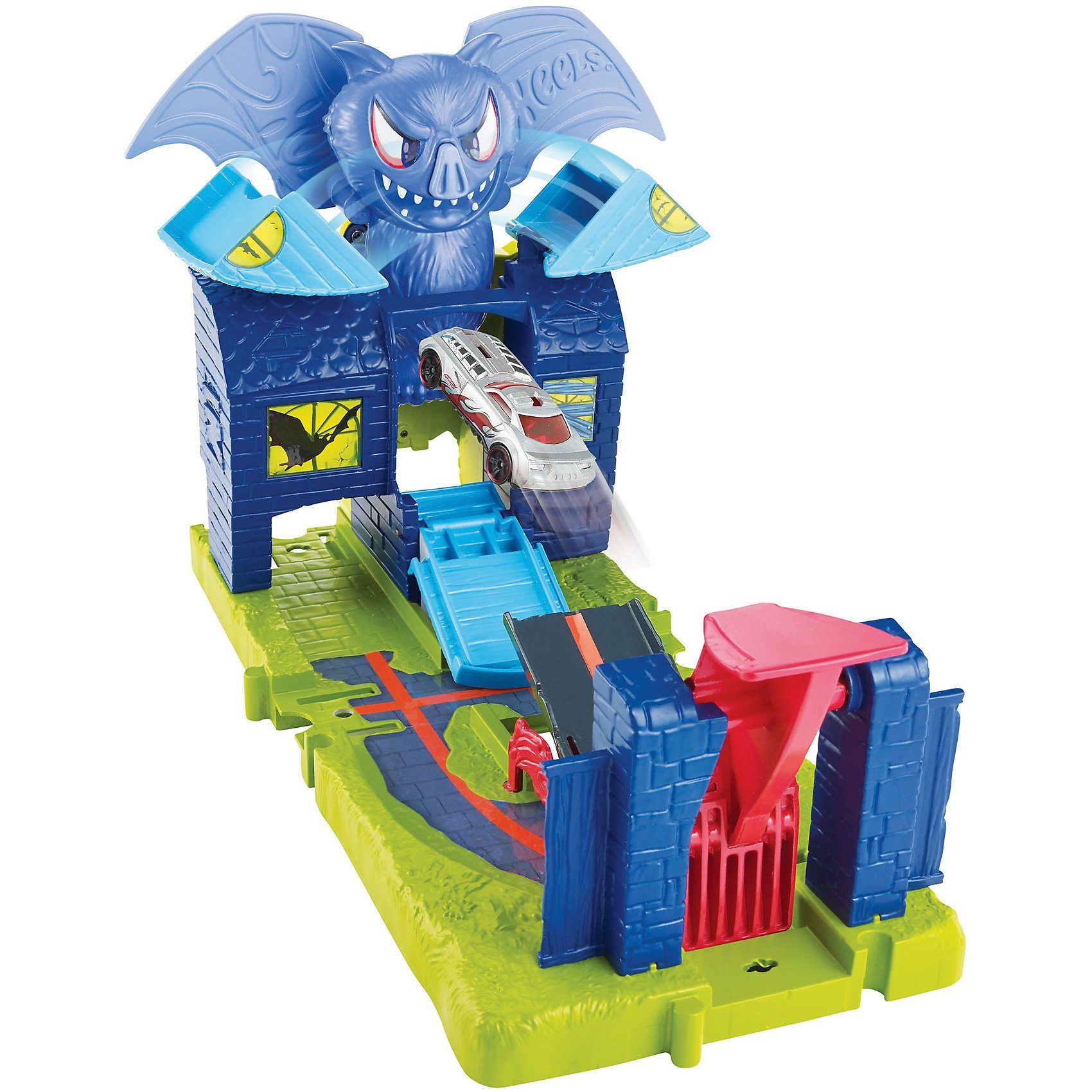 Mattel® Hot Wheels City Fledermaus-Angriff Gebäudeset