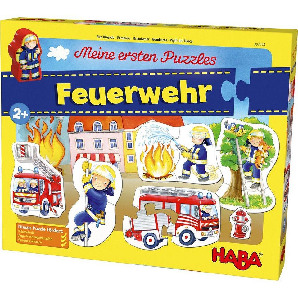 Haba Meine ersten Puzzles - Feuerwehr kaufen