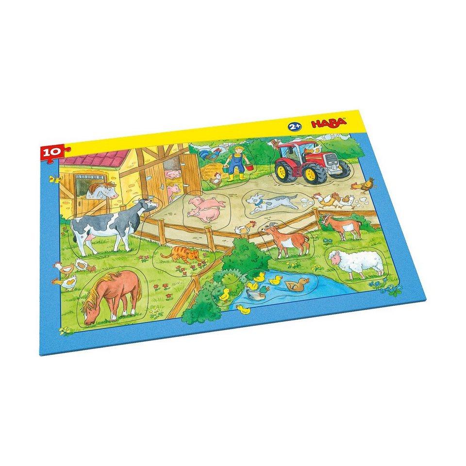 Haba Rahmenpuzzle 10 Teile - Bauernhof kaufen | OTTO