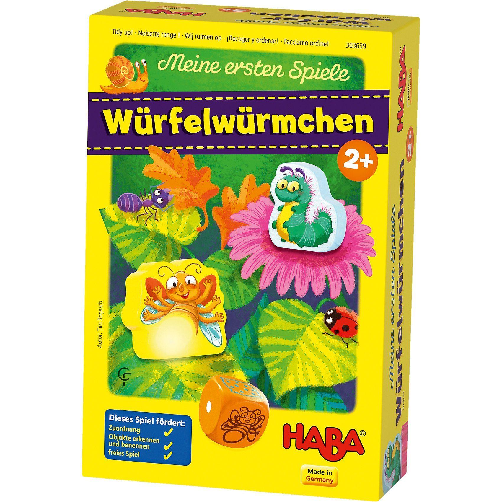 Haba Meine ersten Spiele - Würfelwürmchen