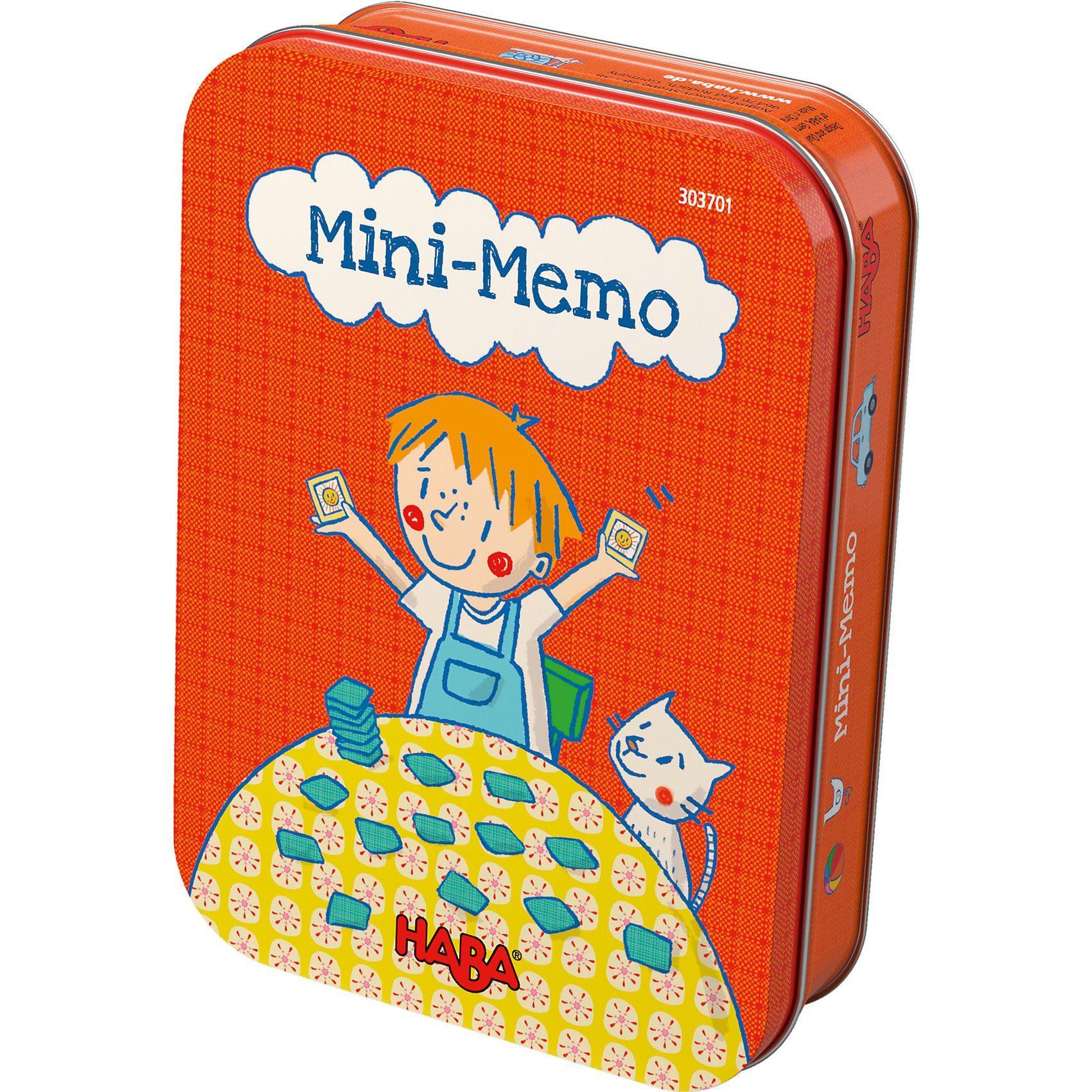 Haba Mini-Memo (Mitbringspiel)