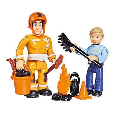 SIMBA Feuerwehrmann Sam - Figuren Doppelpack Elvis+Penny