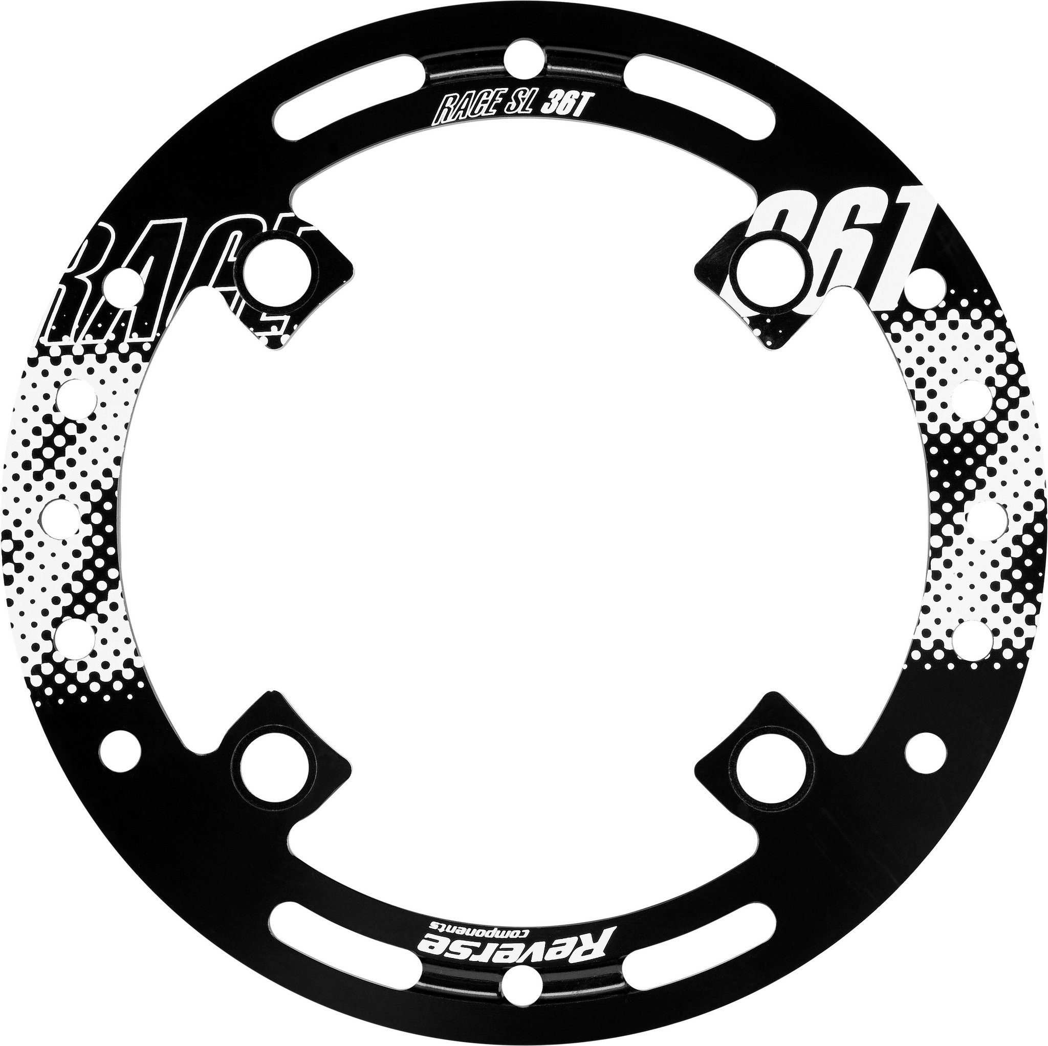 Reverse Fahrrad Kettenführung »Race SL Bashguard 36 Zähne«