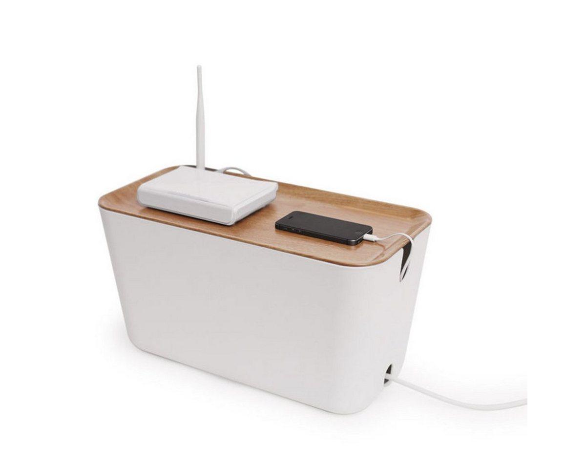 BOSIGN Bosign Kabelbox HIDEAWAY XXL, weiß-natur - Preisvergleich