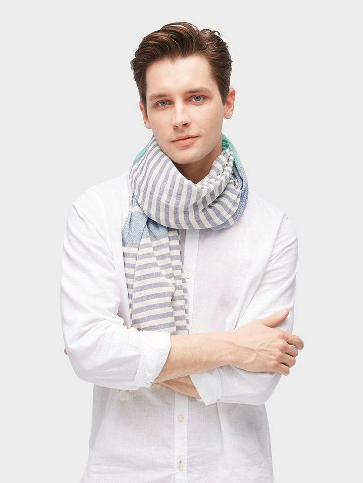 Tom Tailor Modeschal »gestreifter Schal mit Fransen« - Preisvergleich