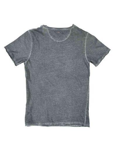 shirt T Rundhals Emilio Adani Stahlgrau 0Nvnm8wO