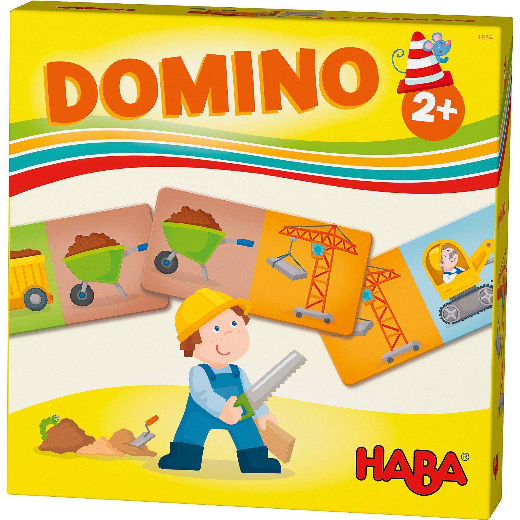 Haba Lieblingsspiele - Domino Baustelle