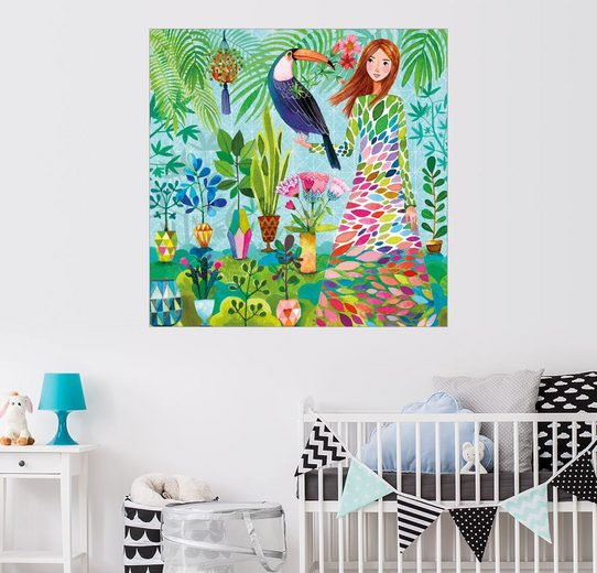 Posterlounge Wandbild - Mila Marquis »Botanischer Garten«
