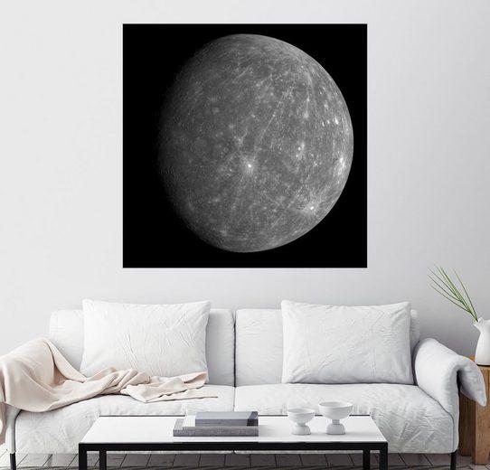 Posterlounge Wandbild - Stocktrek Images »Planet Merkur«