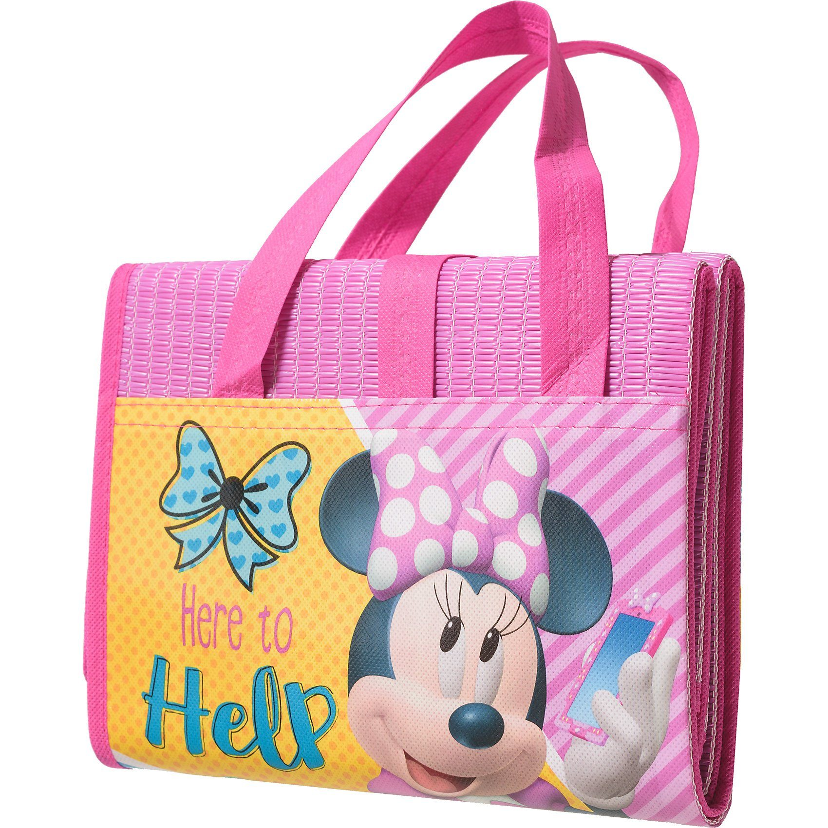 Strand- und Badematte, faltbar, Disney Minnie Mouse, 75 x 15