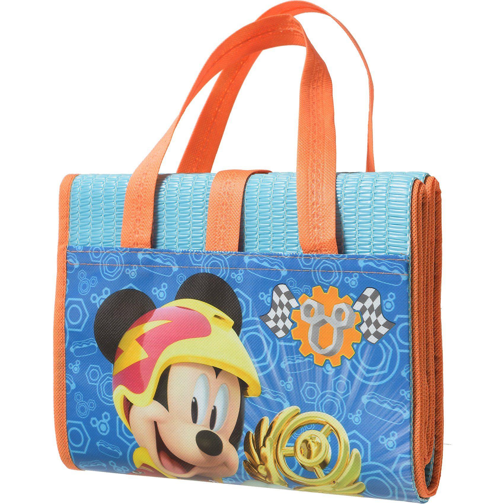 Strand- und Badematte, faltbar, Disney Mickey Mouse, 75 x 15