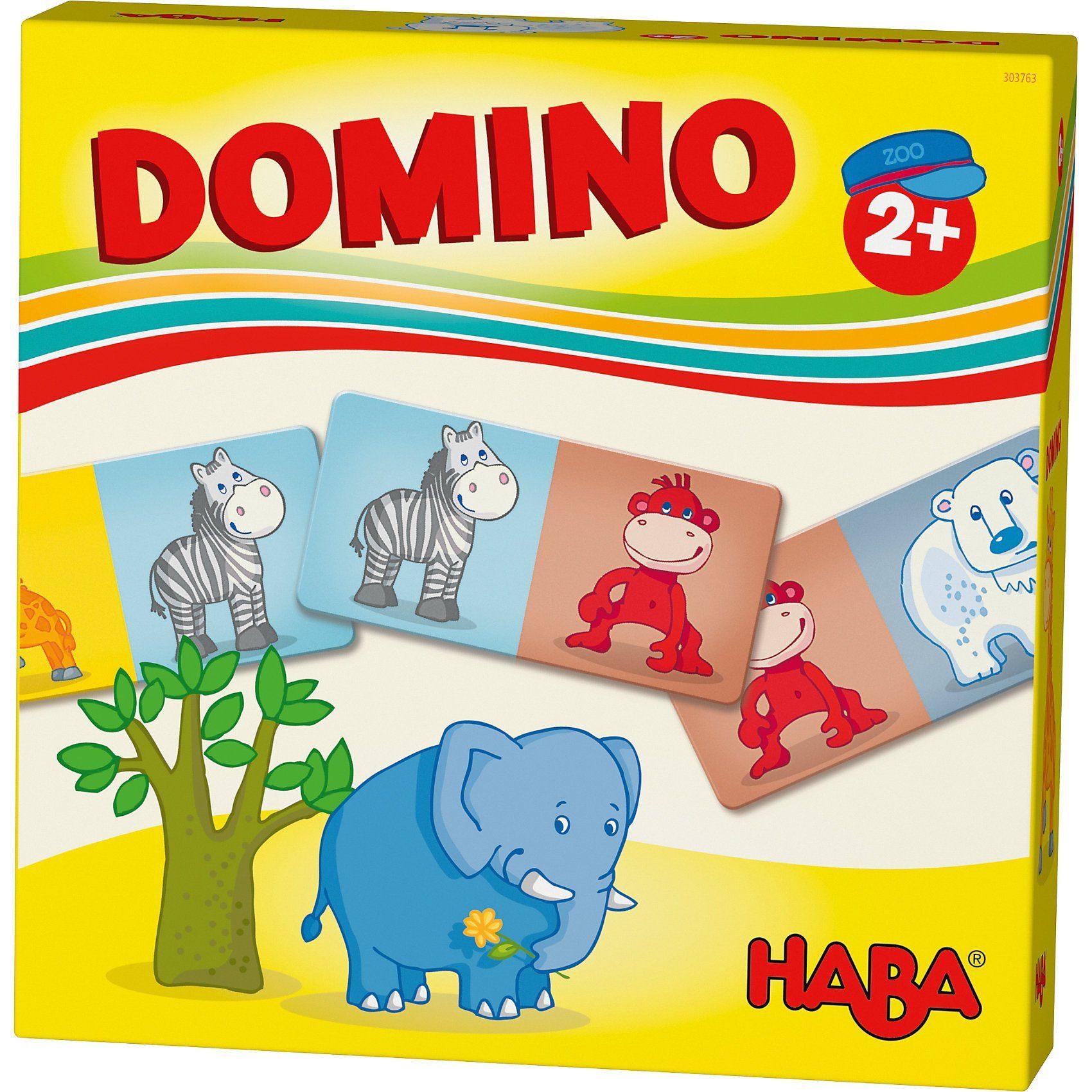 Haba Lieblingsspiele - Domino Zootiere