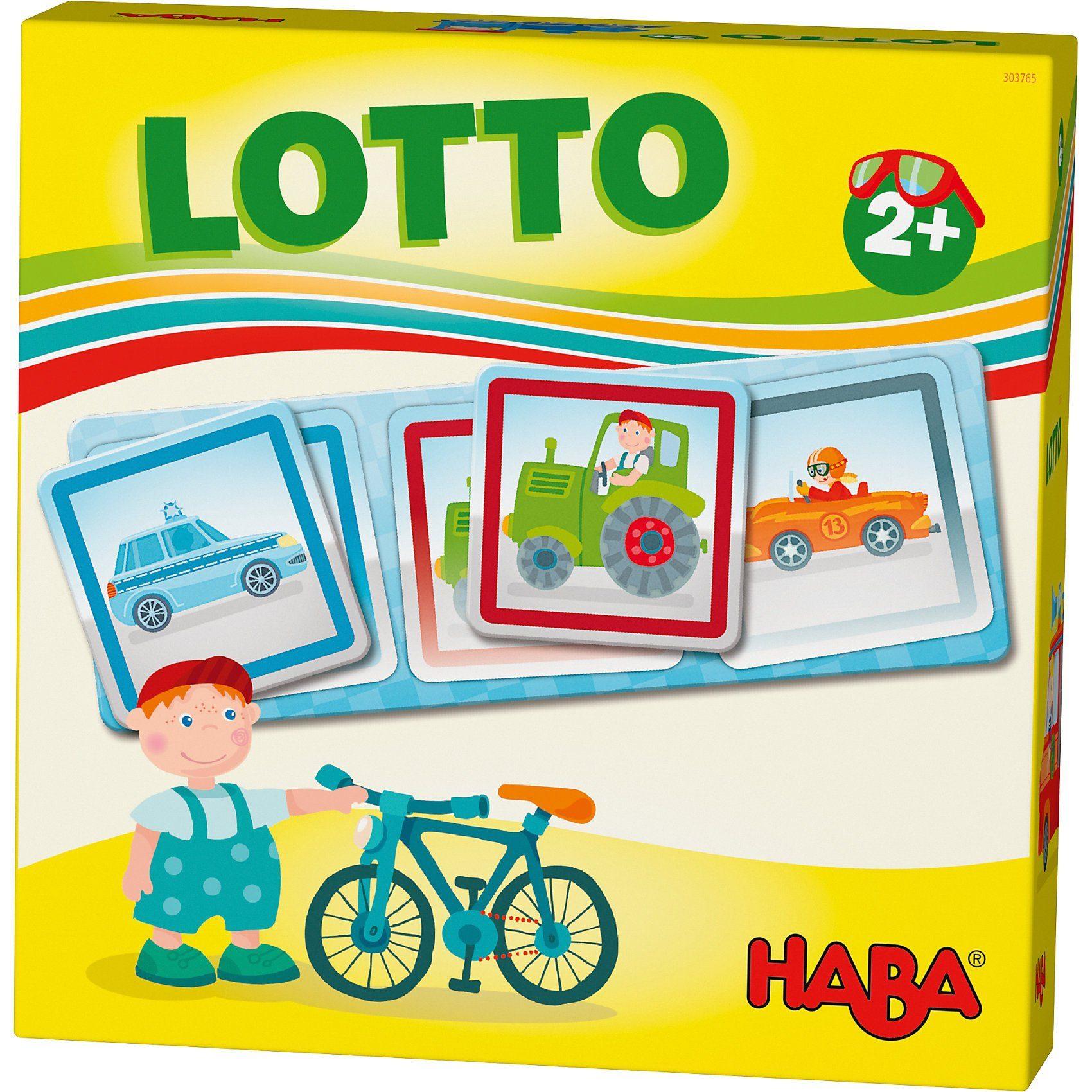 Haba Lieblingsspiele - Lotto Fahrzeuge