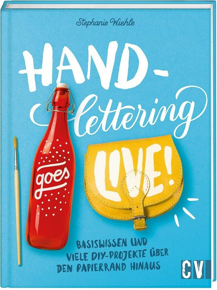 """Buch """"Handlettering goes live"""" 96 Seiten kaufen"""