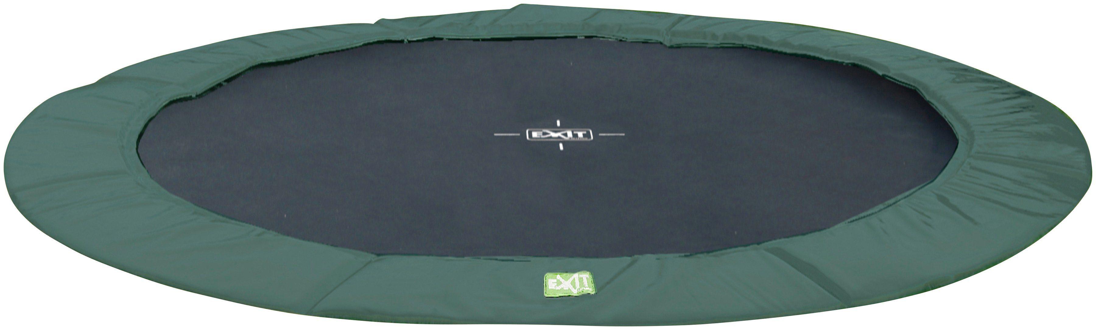 EXIT Trampolin »InTerra Ground«, Ø 305 cm, grün