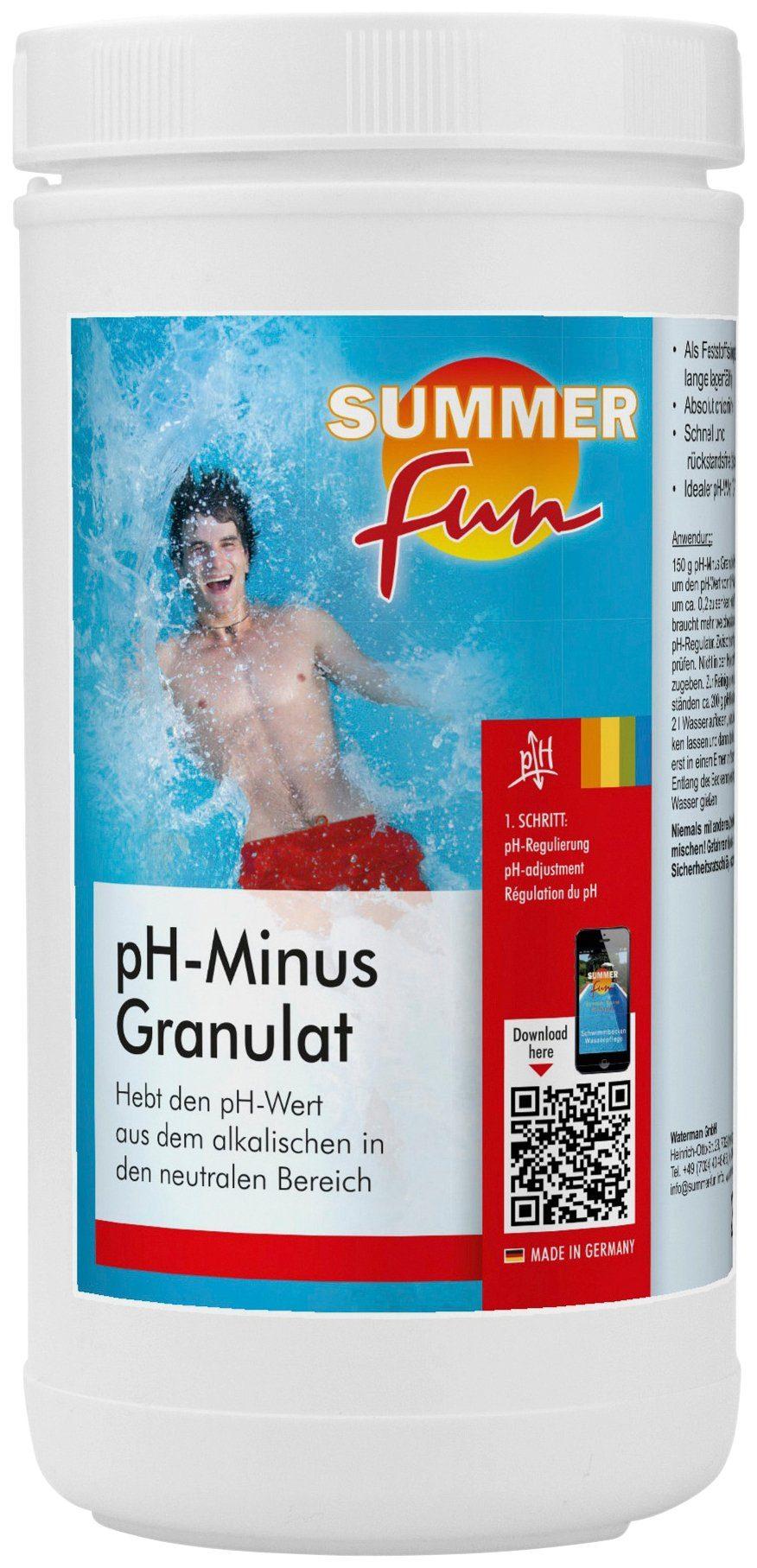 SUMMER FUN Wasserpflege »pH-Minus Granulat «, 2 kg